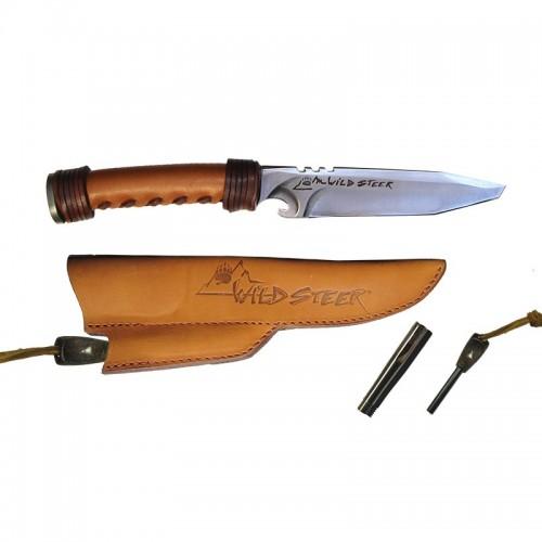 Couteau Wildsteer Gold + extracteur Alu/MMS