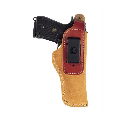 01071Holster inside cuir brun IA322 L/Auto Compact