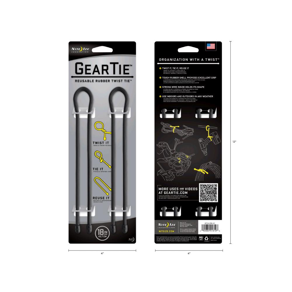 Le cordon de fixation GearTie 45.7cm