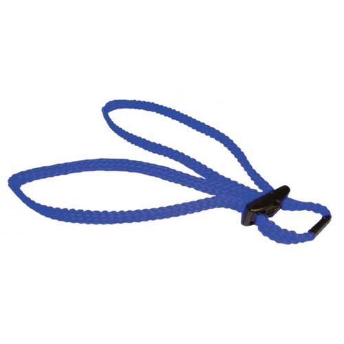 Menottes d'entraînement textiles bleu
