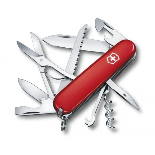 Couteau Swiss Huntsman rouge