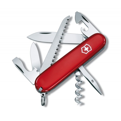 COUTEAU VICTORINOX CAMPER ROUGE