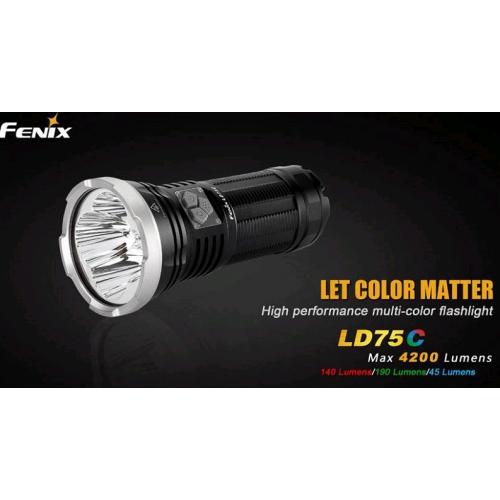 Lampe fenix LD75