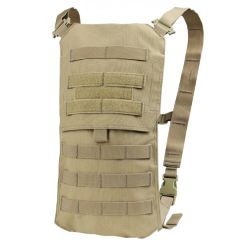 Porte sac Oasis avec sac d'hydratation 2.5 l tan