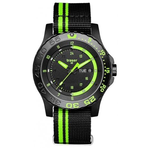 """Montre traser H3 """"green spirit vert/ noir"""