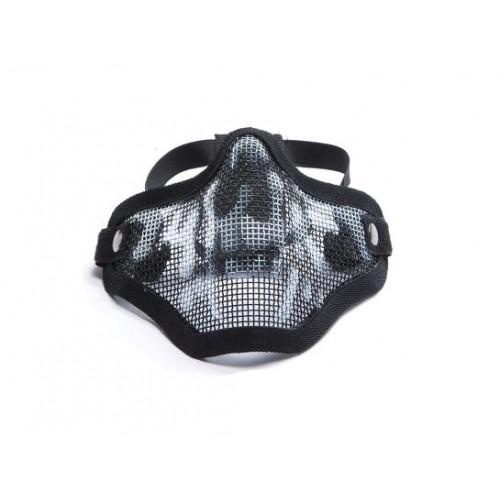 Masque en métal Mesh, Half, Skull