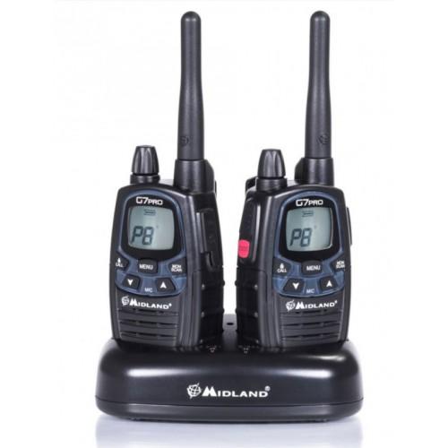 Kit 2 radios PMR446 G7 Pro Midland