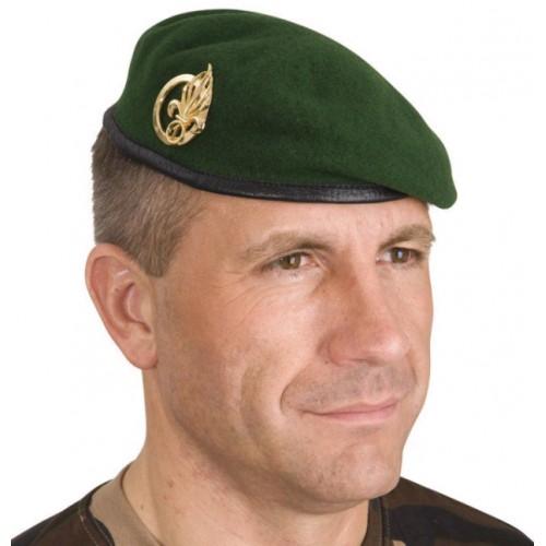 Béret militaire vert