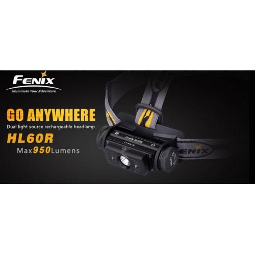 Lampe Fenix frontale HL60R