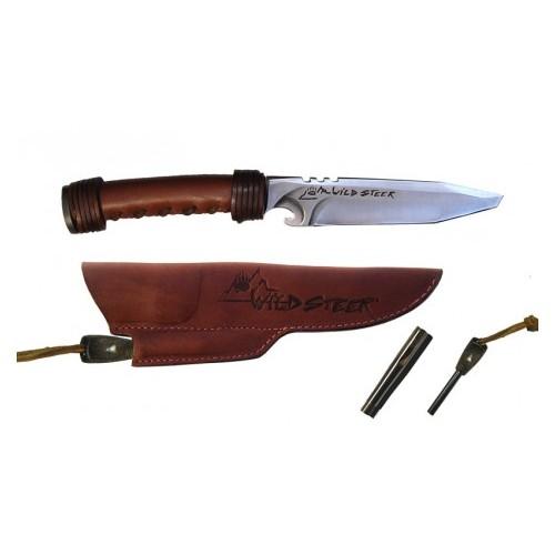 Couteau Brown + Pierre à feu