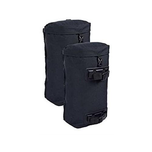 Seitentaschen MMPS für Rucksack schwarz