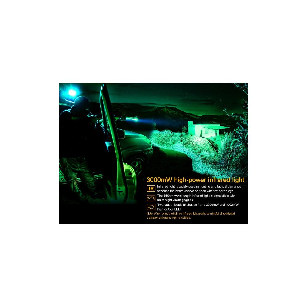 Lampe Fenix TK25IR 1000 lumens +IR