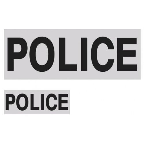 Brust- + Rückenabzeichen Police