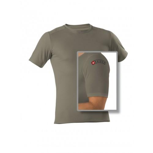 Schweizer-Armee T-Shirt 1/4 olive