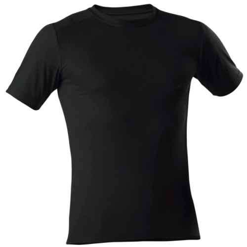 T-Shirt 1/4 noir