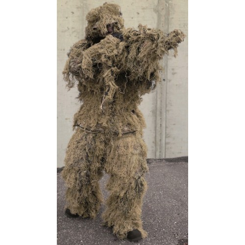 Ghillie anti fire desert pcs