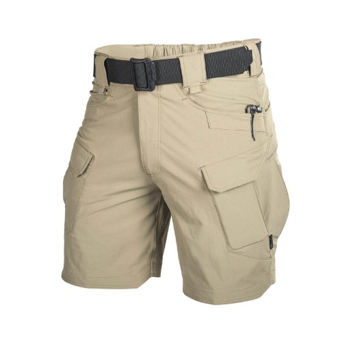 Short outdoor tactical tan