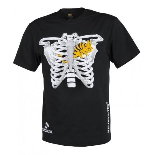 T-shirt helikon chameleon noir