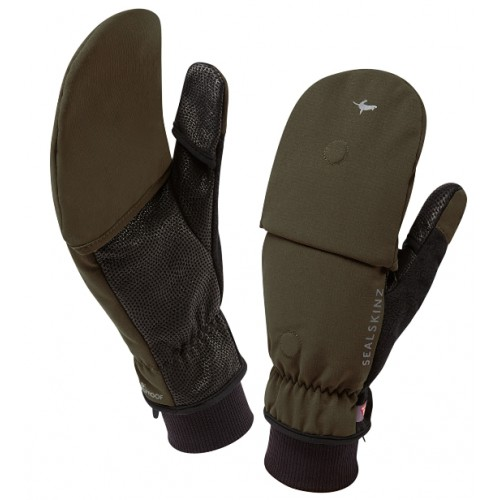 Gants Outdoor Sports mitaine Sealskinz olive