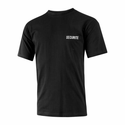 T-Shirt Sécurité schwarz