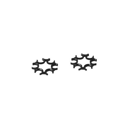 Moon Clip pour 6 & 4.5mm DW 715 2 pcs noir