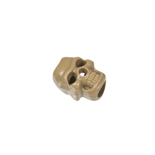 Stopper pour cordon skull coyote 10 pcs