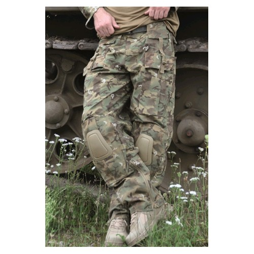 Pantalon tactique Warrior Woodland