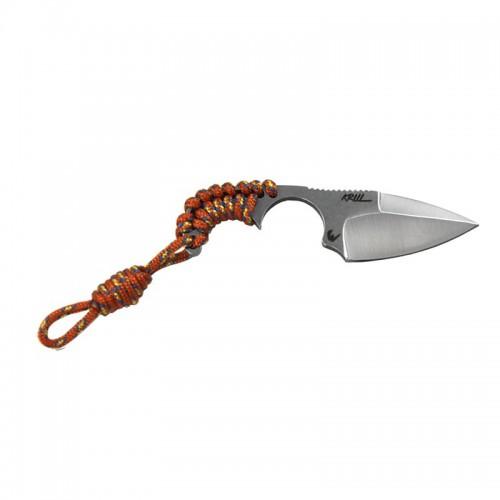 Couteau Wildsteer Krill, paracorde orange
