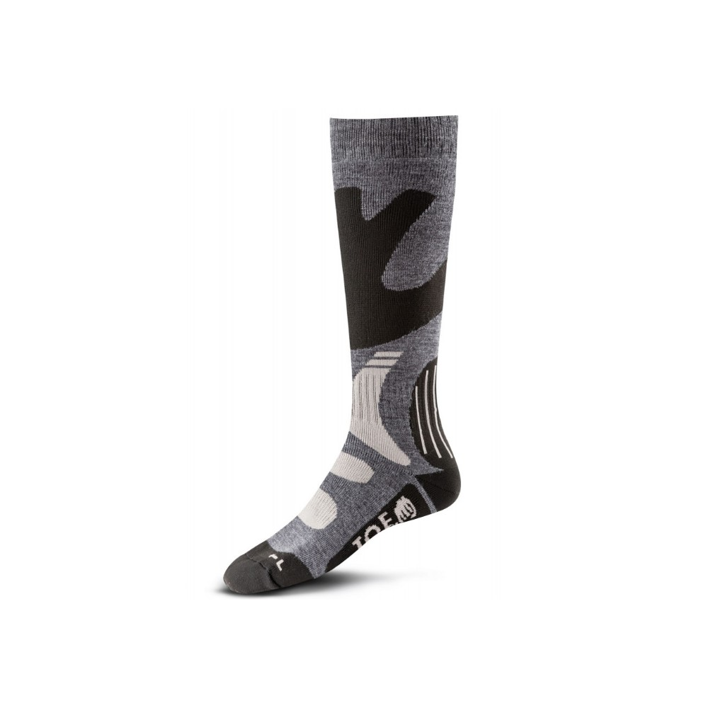 Chaussettes Hiver grise-noire