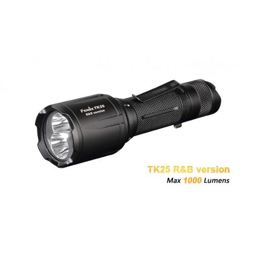 Lampe Fenix  TK25 +R+B 1000 lumens,  blanc, rouge