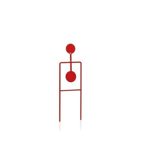 Cible oscillantes 2 pcs 5 & 6cm