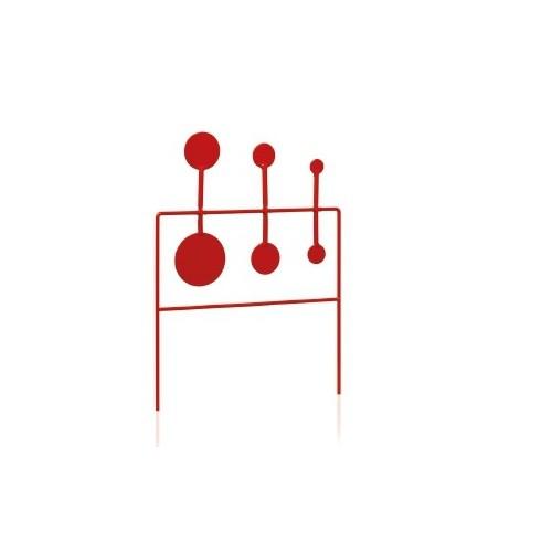Cible oscillantes 6 pcs 2.5 à 8.5cm