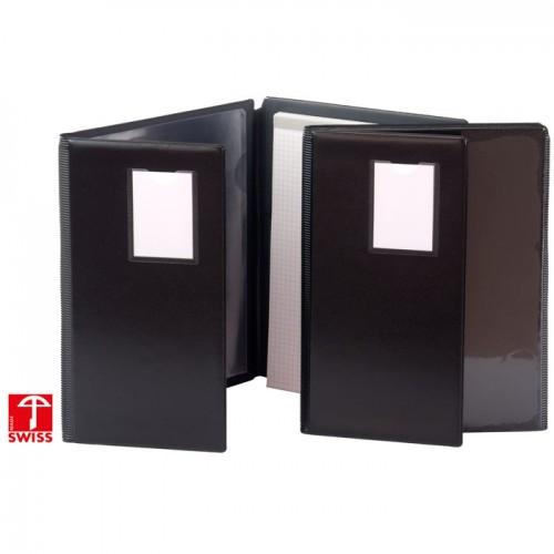 Cartable avec bloc A5 noir