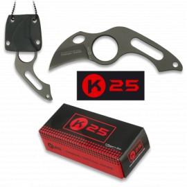Couteau tour de cou K25  GAINE KYDEX 4CM  31849