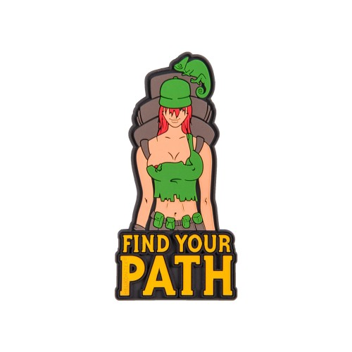 """Patch FIND YOUR PATH"""" PATCH - PVC"""