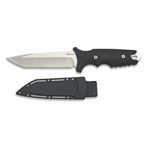 Couteau avec manche en caoutchouc 31923