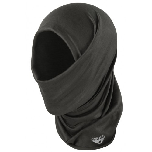 Tour de cou Multi-Wrap noir