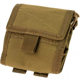 Pochette roll-up multifonction tan