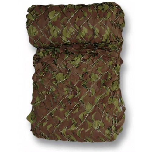 Filet vert-cam woodland 1.5 x 3m
