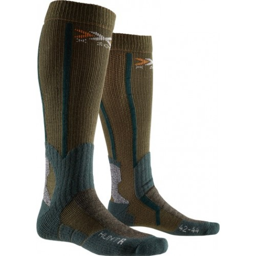 Chaussettes X-socks Hunt Long Olive green