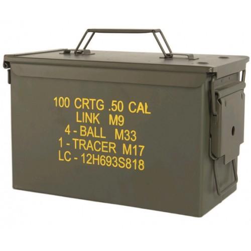 Caisse à munition métal, de rangement