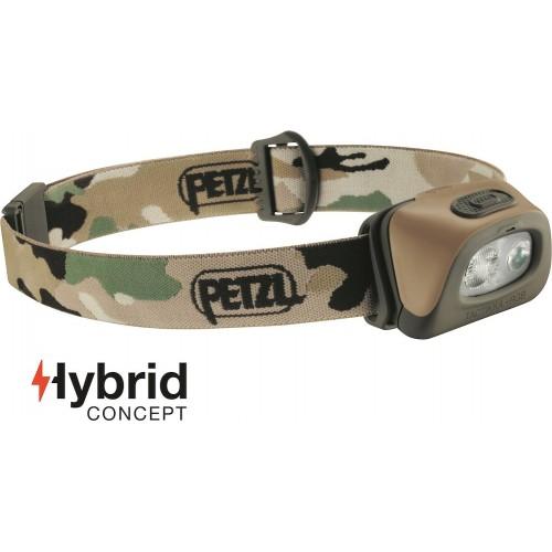 Lampe Petzl frontale Tactikka+RGB 250 lumens camo