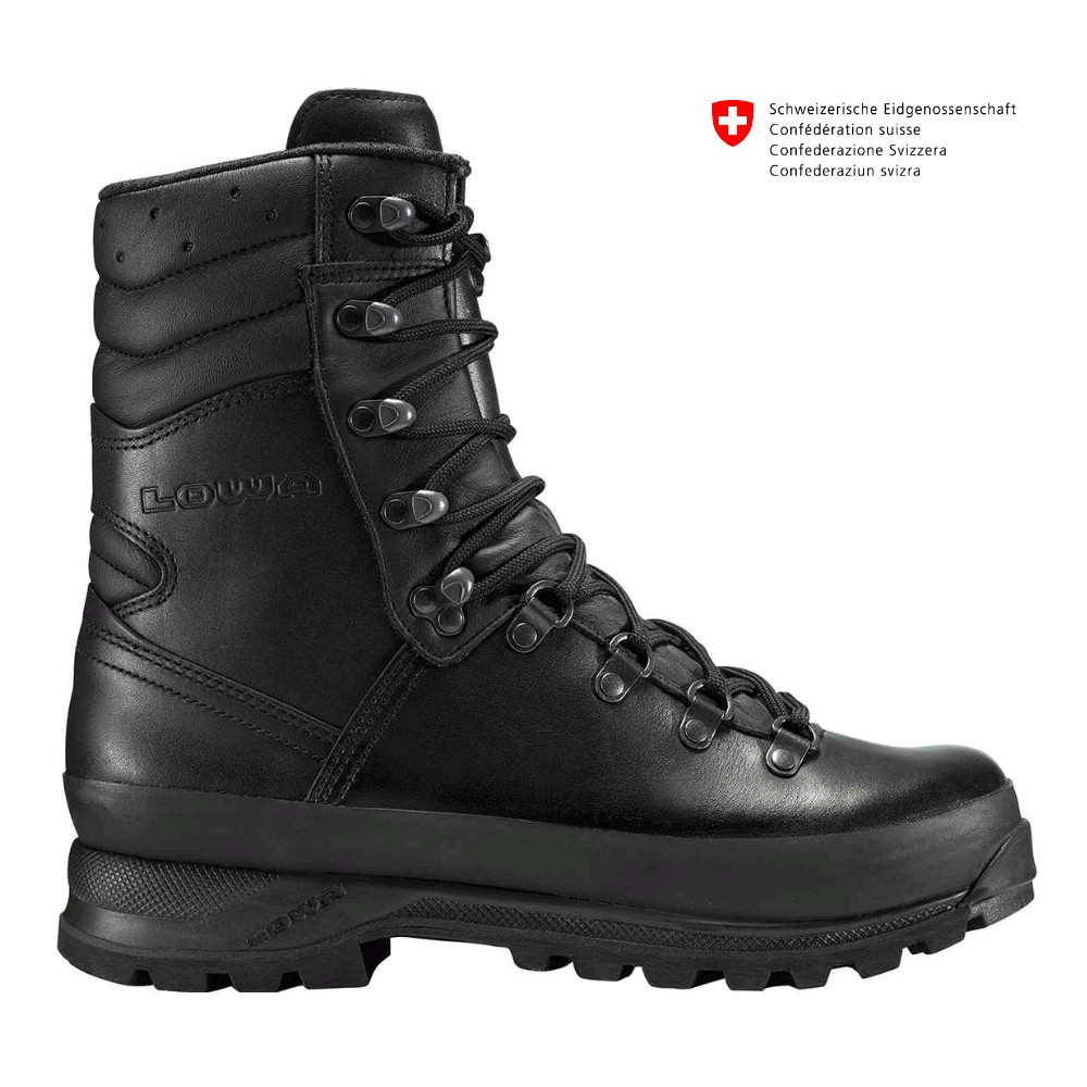 Chaussures militaires Mega camp noir
