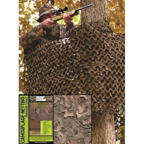 Filet de camouflage 3x6m woodland