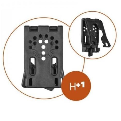 Système clip avec ouverture pour ceinture