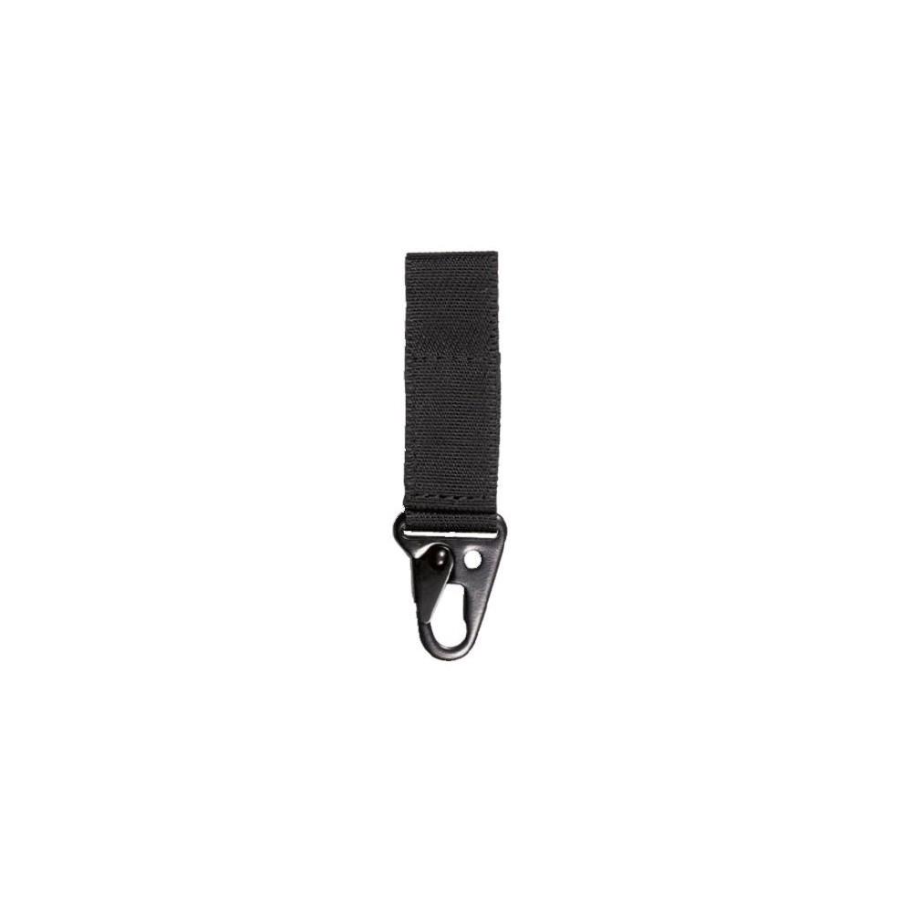 Porte-mousqueton 2V25 noir