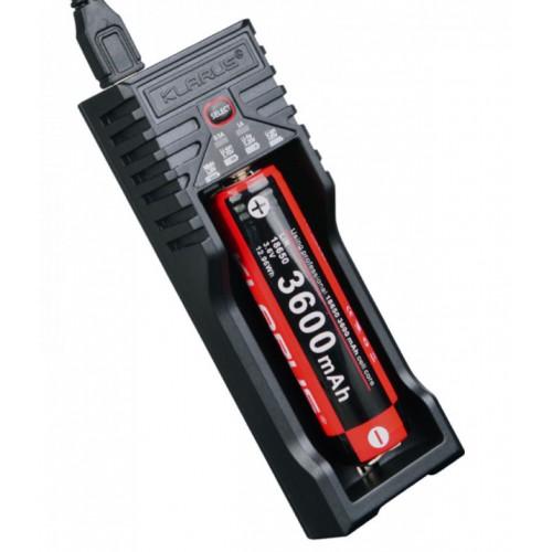 Chargeur pour 1 accu rechargeable