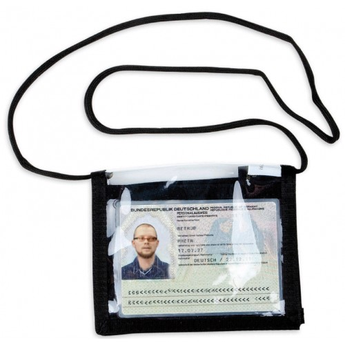 TT Porte Carte d'identification noir