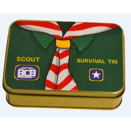 "Box of ""Scout Survival Tin"""