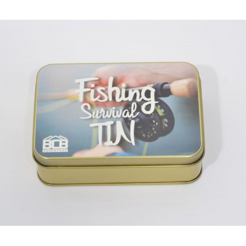 "Box of ""Fishing Survival Tin"""